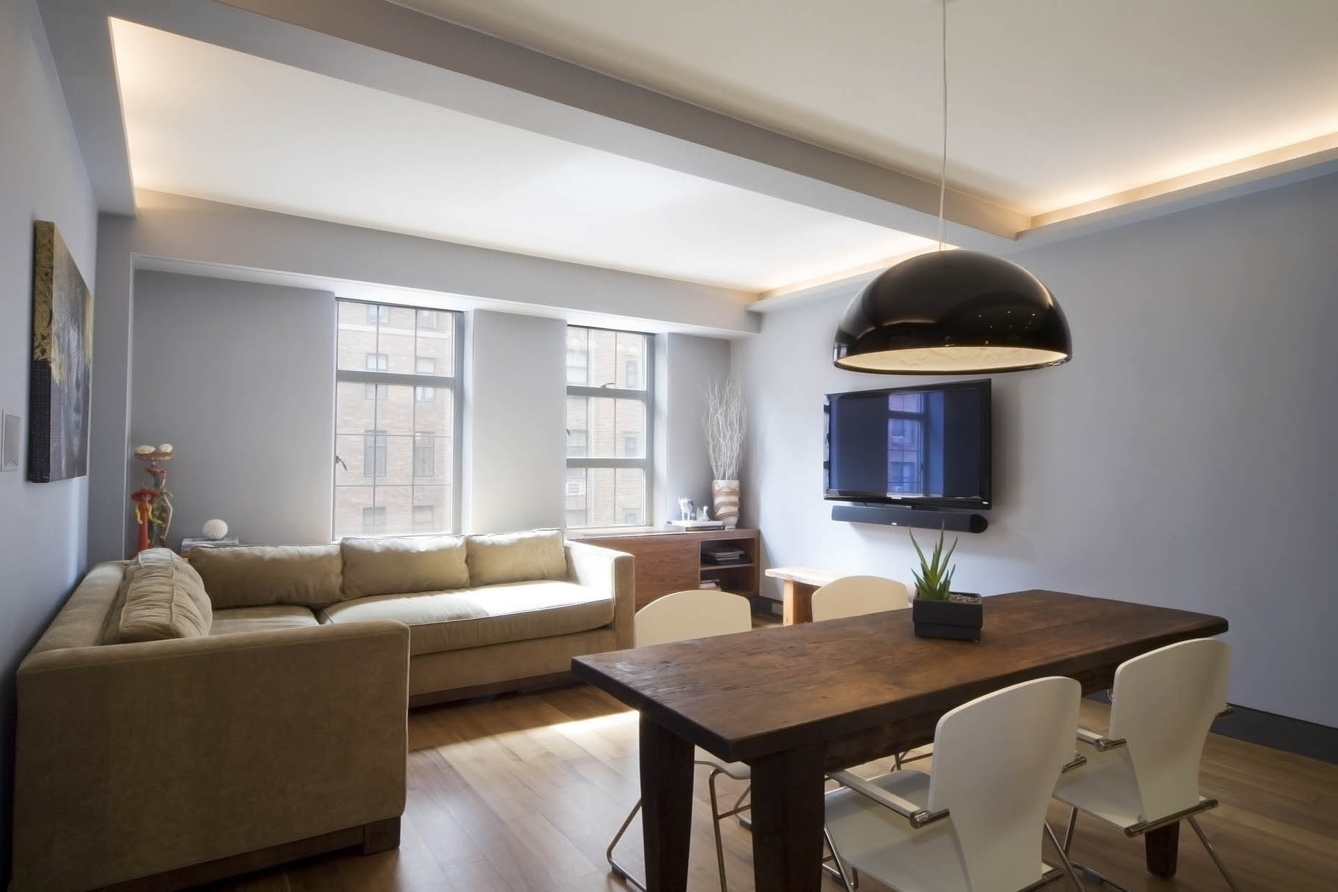Living Area at West 24th Street - Element Design Group NYC