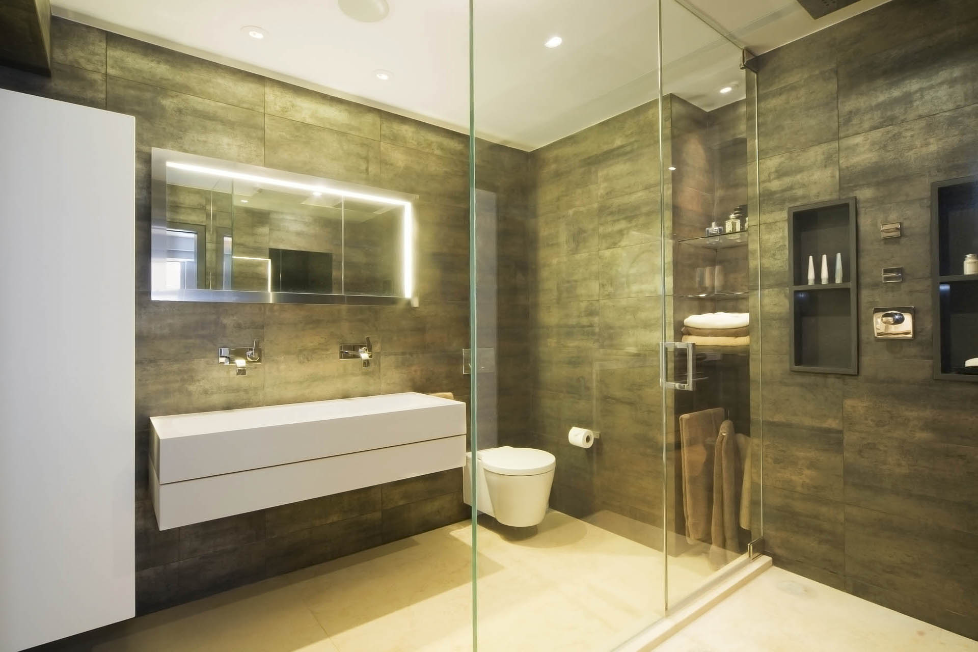 Bathroom at West 24th Street - Element Design Group NYC